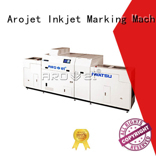 Arojet ultrahigh coding printer customized for label