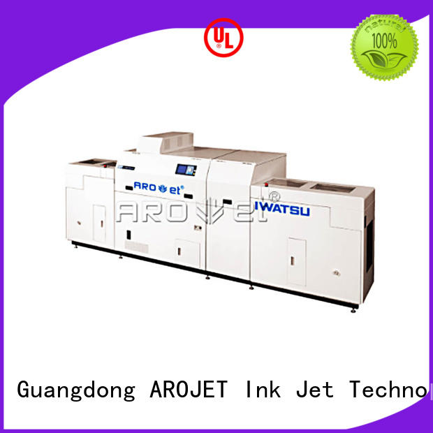 inkjet inkjet coder with good price for paper Arojet