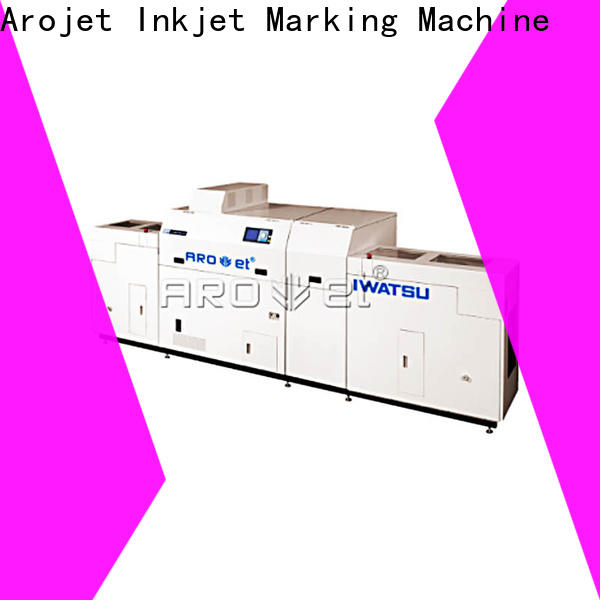 Arojet variable high speed digital printing best supplier for promotion