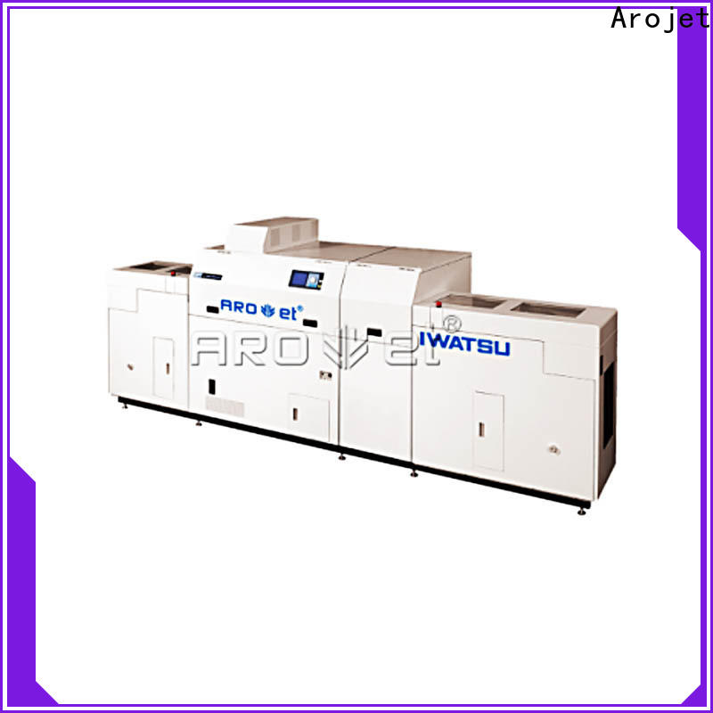 Arojet sheetfed industrial inkjet marking systems supply for label