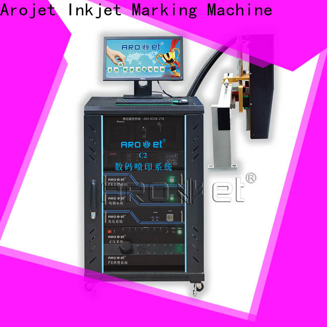 Arojet multicolored industrial inkjet printing machine wholesale for paper