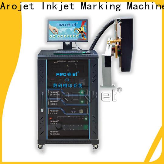 Arojet popular carton box inkjet printer manufacturer for packaging