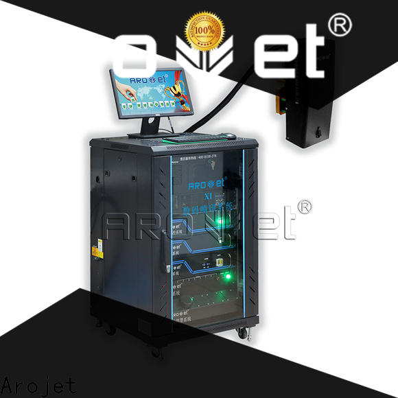 Arojet variable inkjet id card printer best manufacturer for packaging