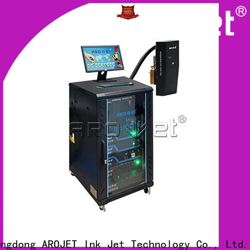 Arojet quality industrial inkjet coding company bulk production