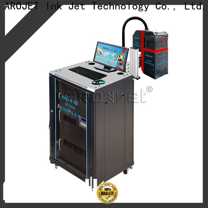 Arojet – advanced inkjet systems manufacturer bulk production