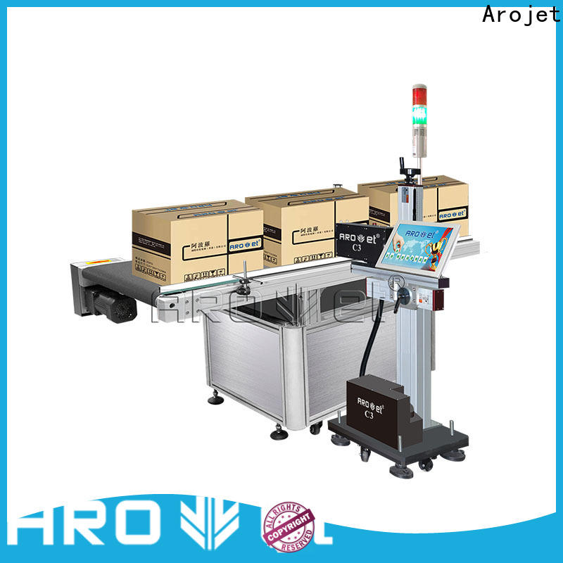 Arojet quality solvent based inkjet printer from China for packaging