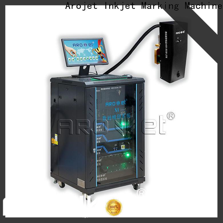 Arojet custom inkjet printer uv directly sale for promotion