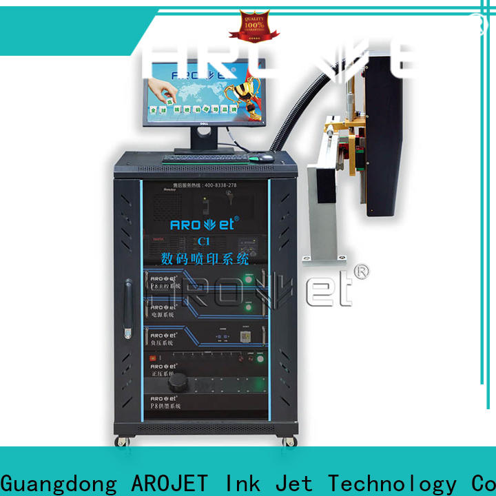 Arojet customized inkjet machine price best manufacturer for paper
