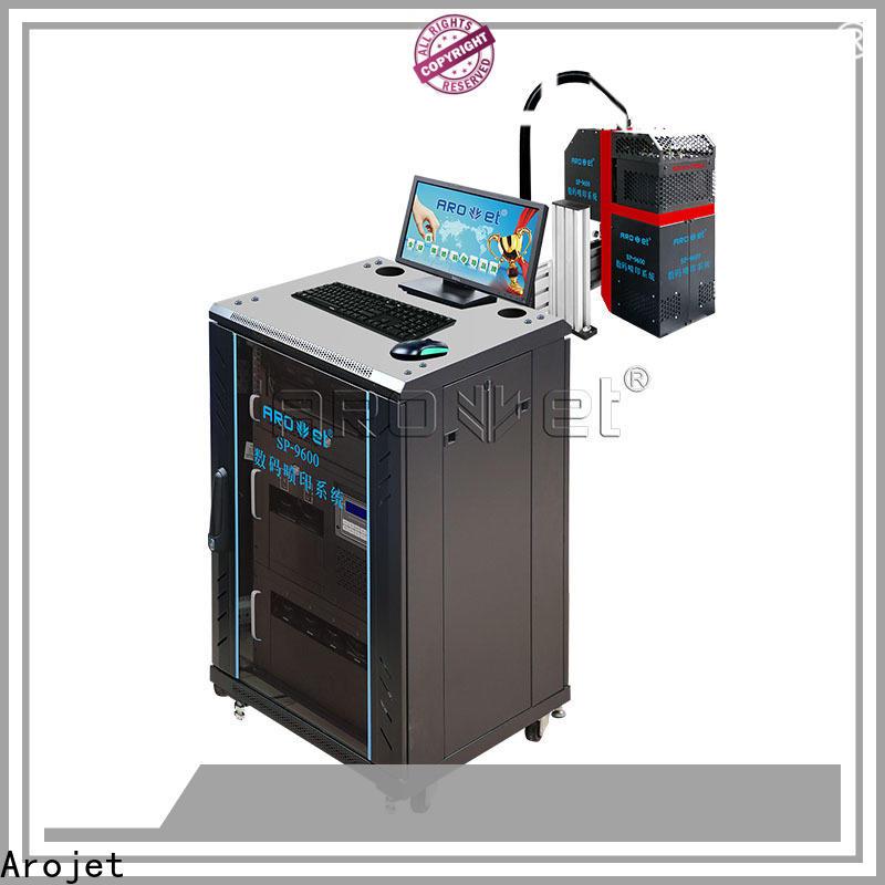 Arojet speed inkjet machine price manufacturer bulk production