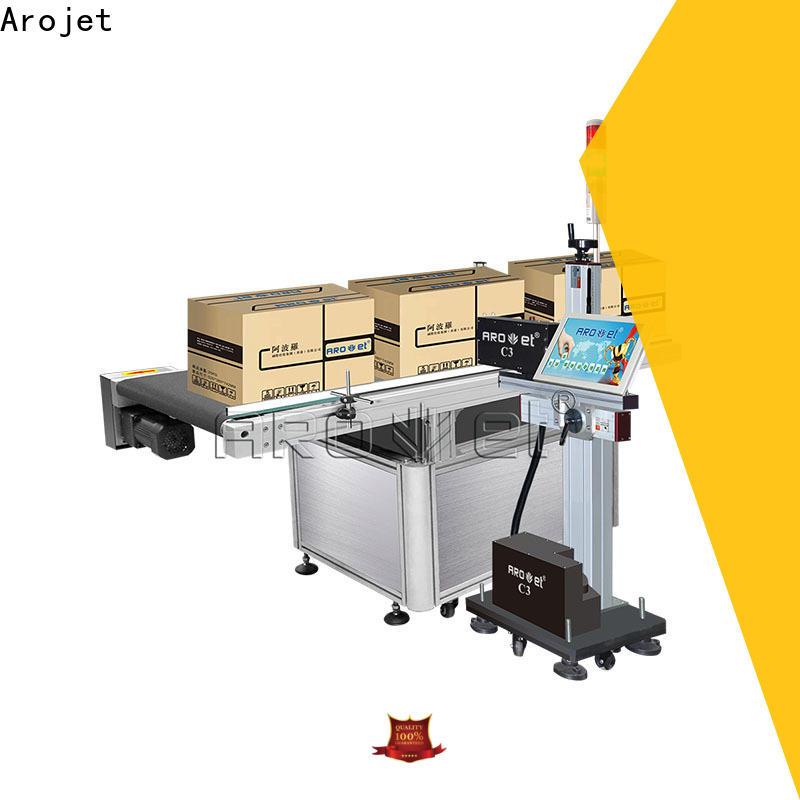 Arojet practical inkjet industrial printers series for package