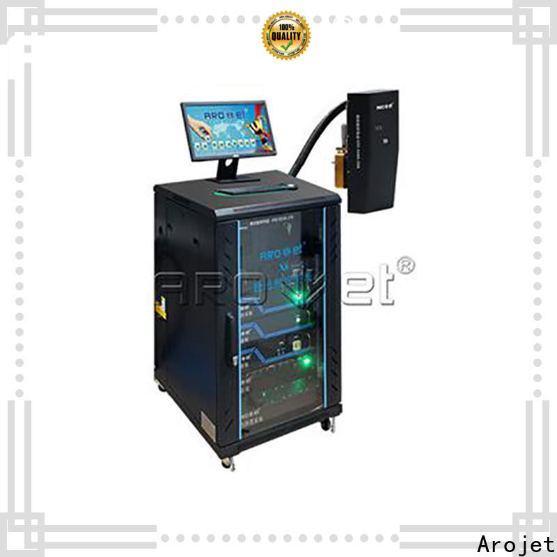 Arojet latest inkjet coding machine factory bulk production