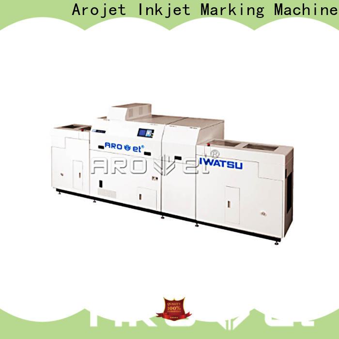 Arojet wideformat industrial inkjet marking systems best manufacturer for promotion