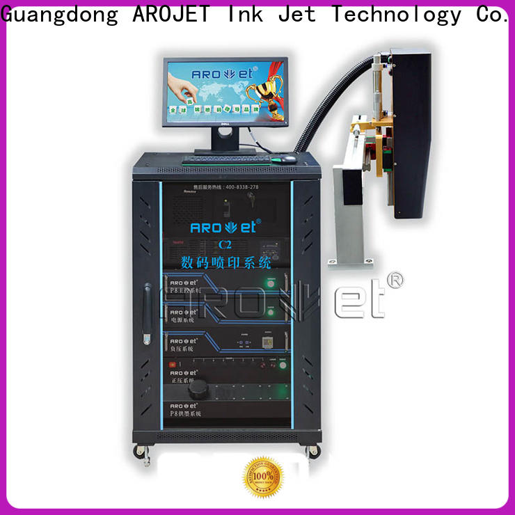 Arojet inkjet variable data printing machine suppliers for packaging