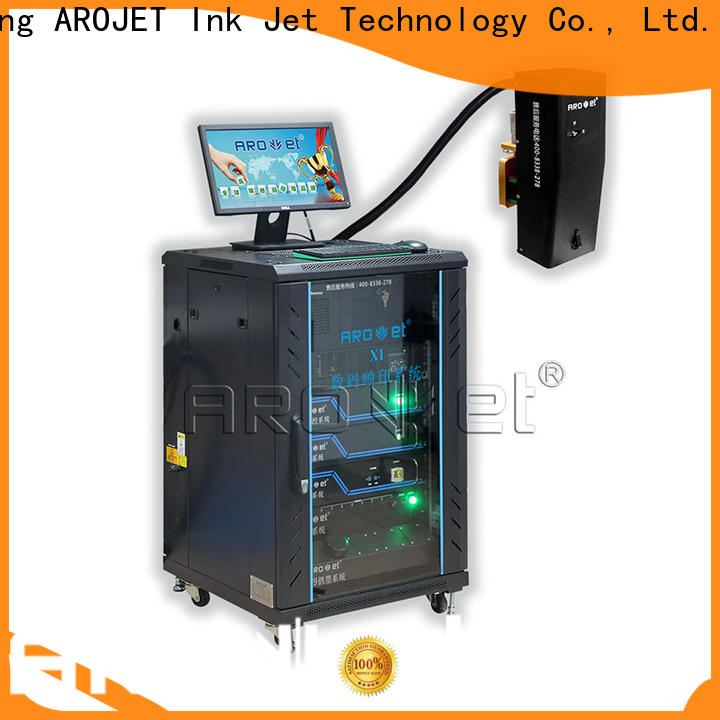Arojet quality inkjet coding machine factory for paper