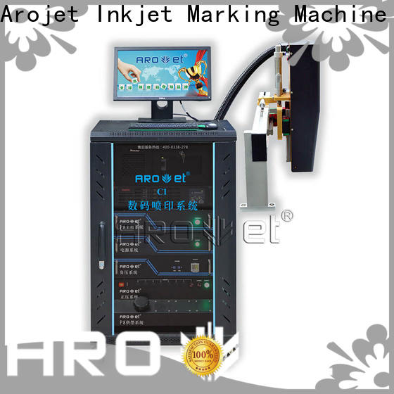 Arojet practical digital inkjet label printer wholesale for packaging
