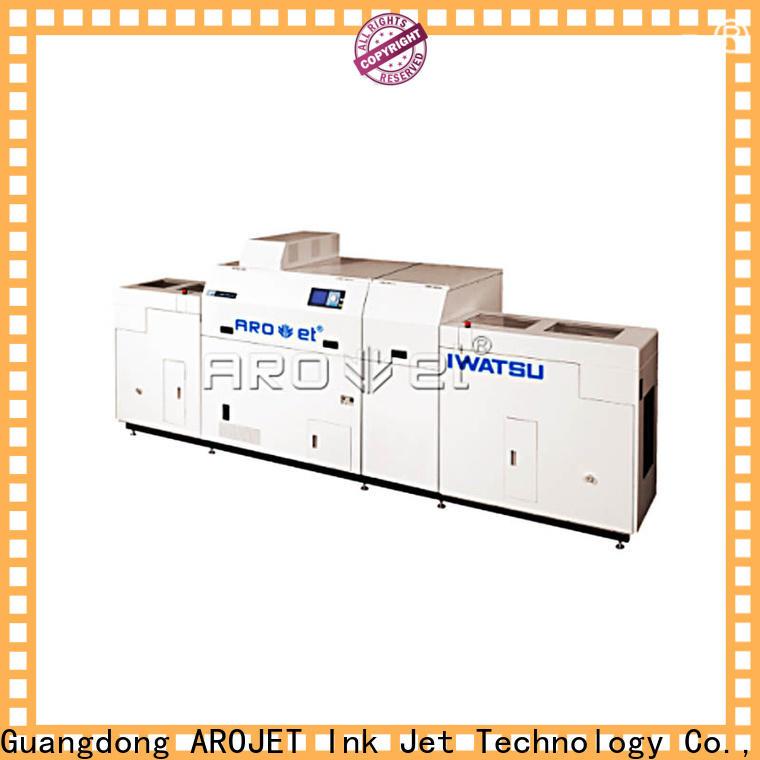 Arojet custom inkjet machine price supplier for promotion